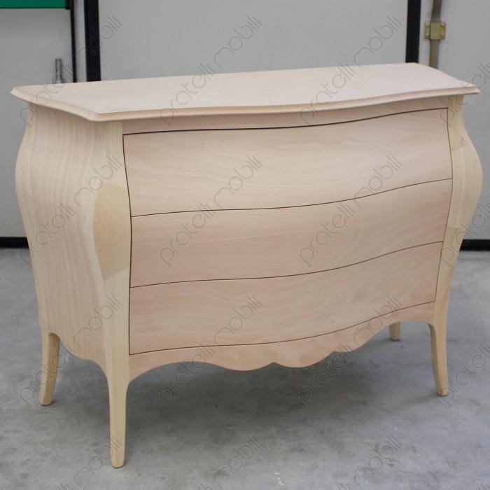 Excellent com bombato grezzo with colorare i mobili - Mobili grezzi da decorare ...