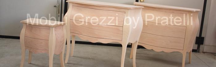 Pratelli mobili perch acquistare mobili grezzi - Colorare i mobili ...