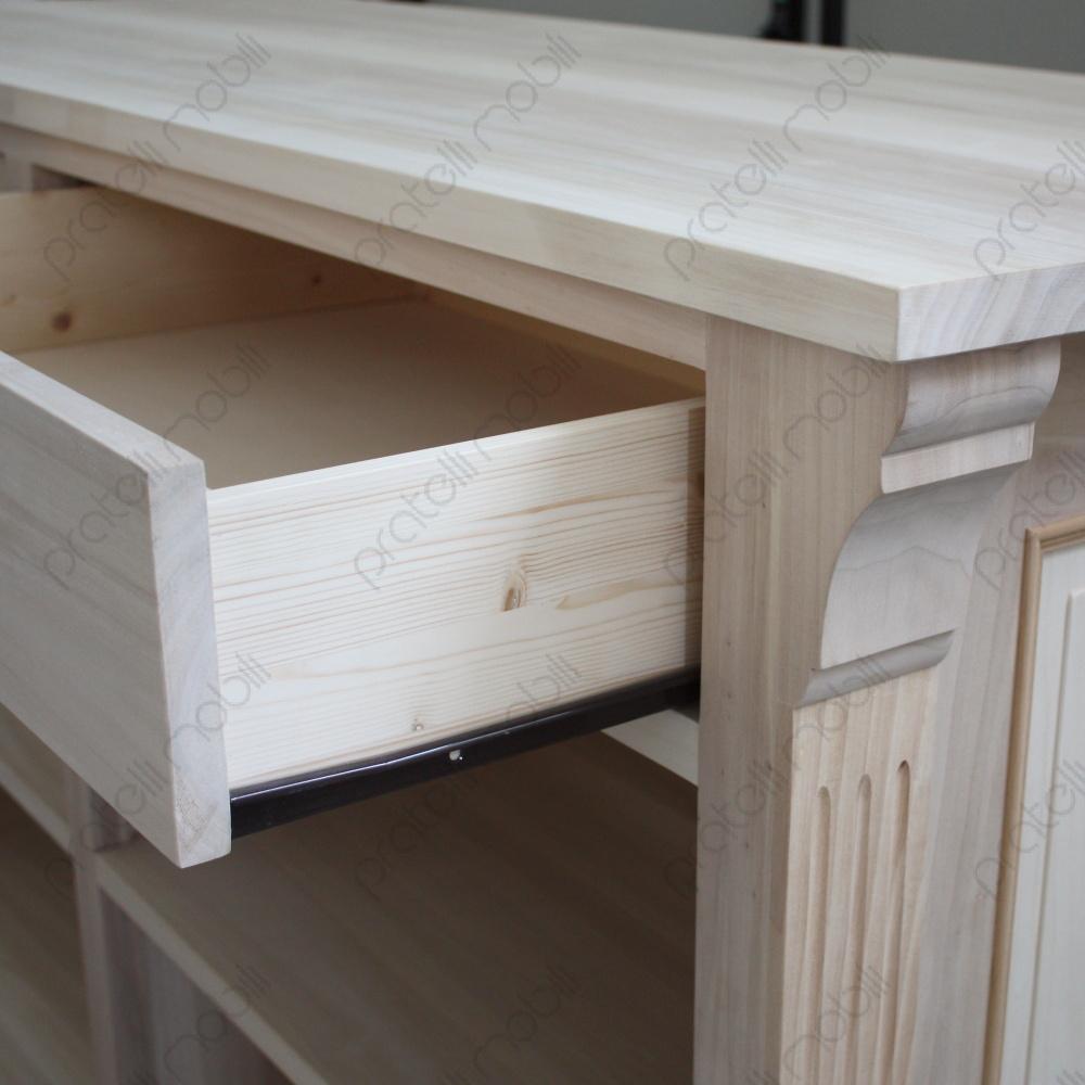 Ante cucina legno grezzo - Legno grezzo mobili ...