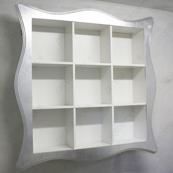 Pratelli mobili quali librerie sospese scegliere for Libreria sospesa a muro