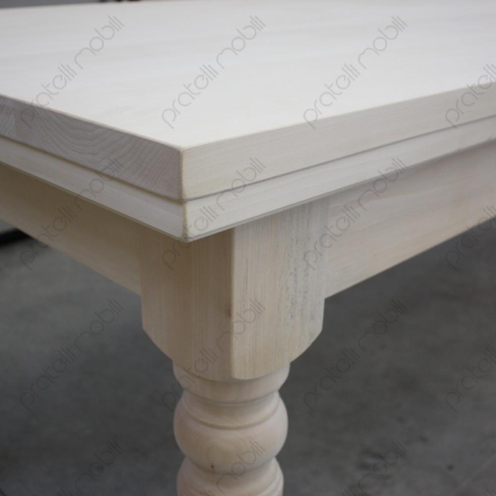 Tavolo in Legno Massello Lunghezza 350 cm