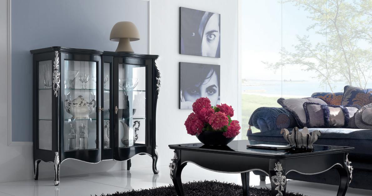 Pratelli mobili come arredare in stile barocco moderno la for Arredare la zona giorno
