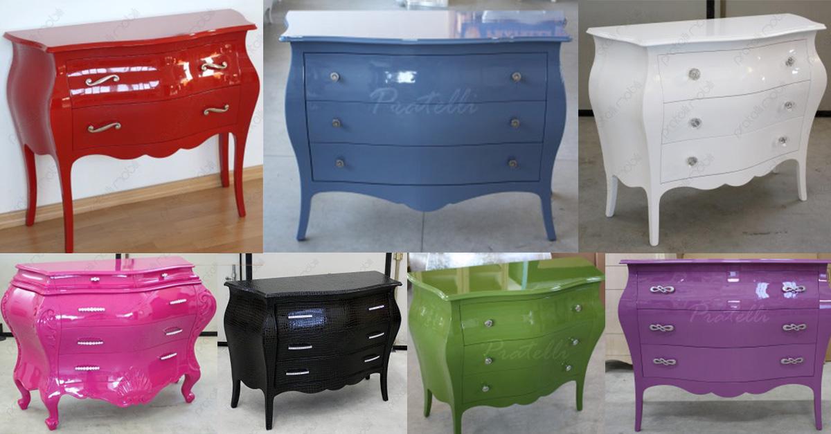 Pratelli mobili quale colore scegliere per i mobili della - Mobili a colori ...