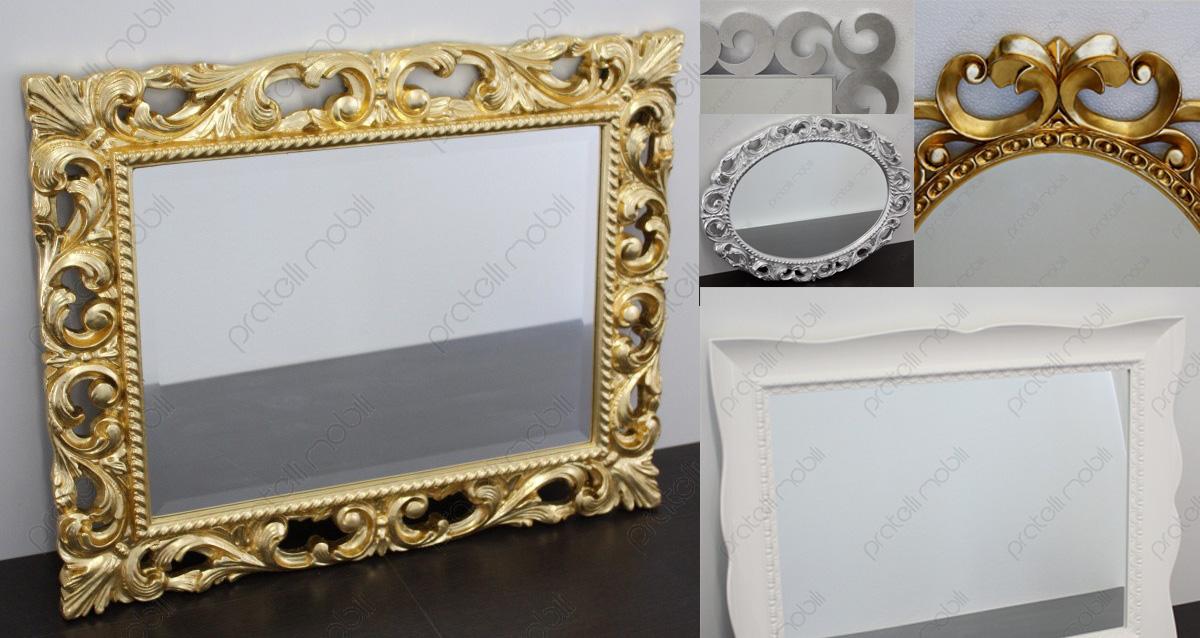 Pratelli mobili decorare casa con le specchiere pratelli - Specchiere on line ...