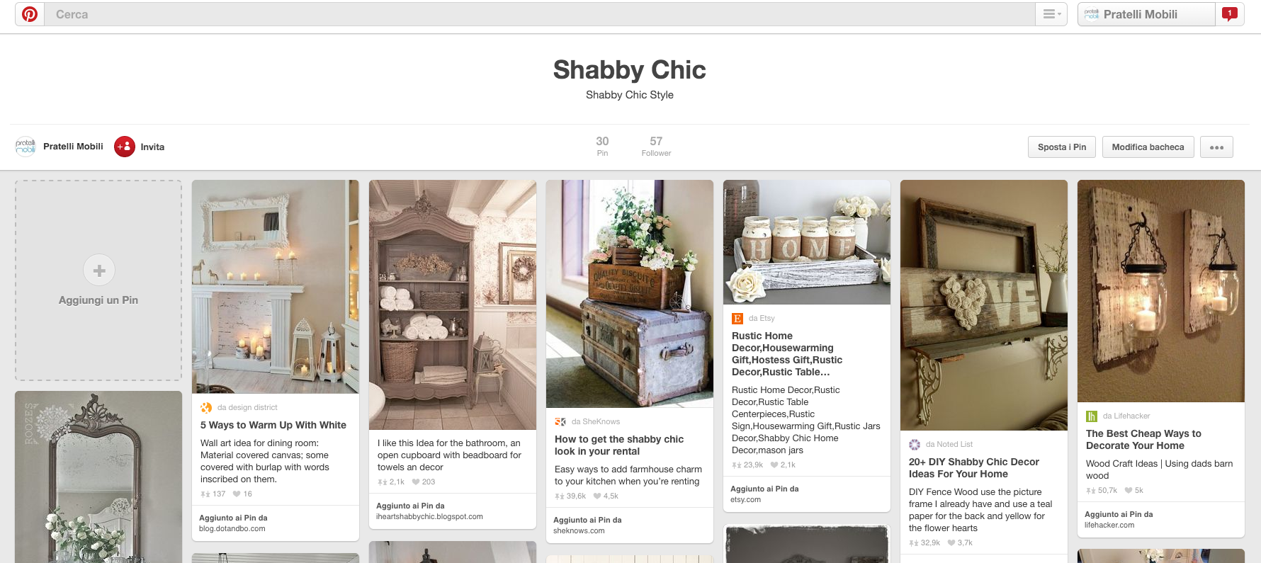 shabby chic pinterest