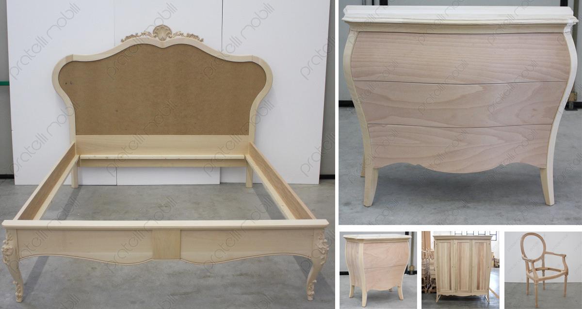 Pratelli mobili 5 mobili grezzi per la camera pratelli for Mobili per la camera