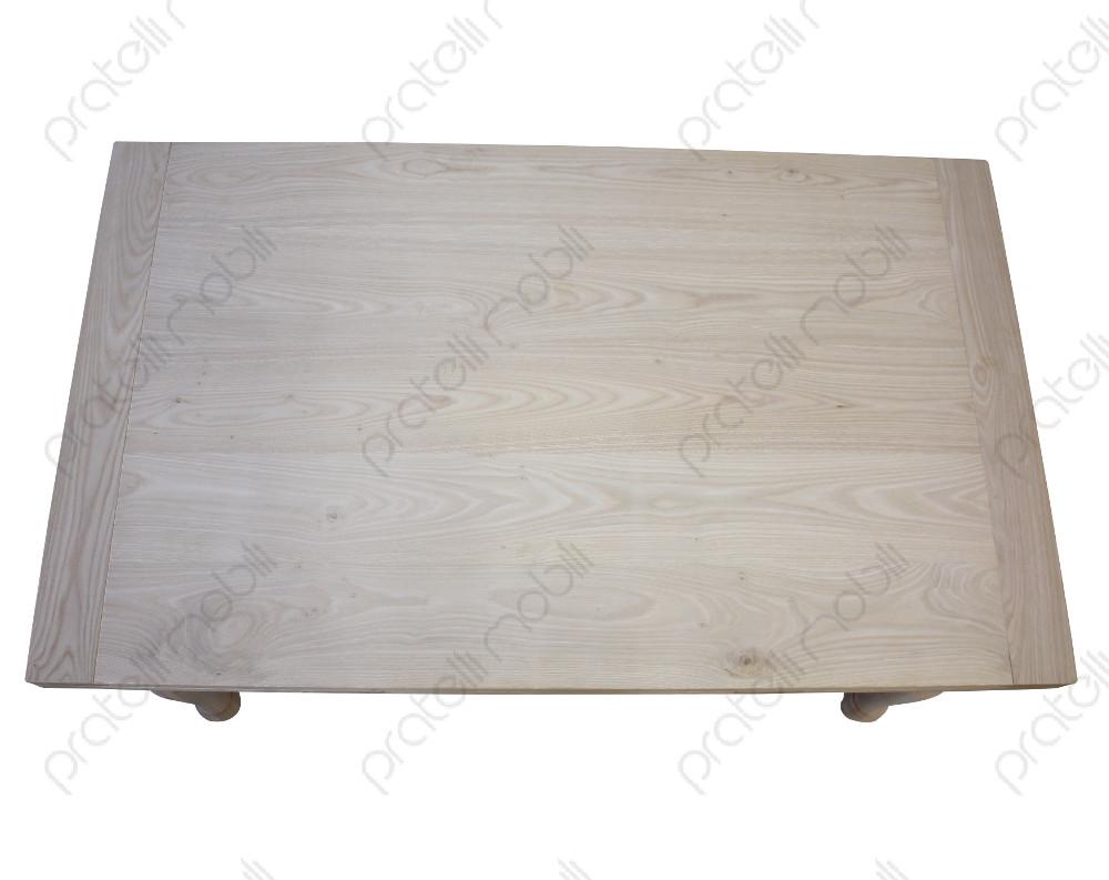 Pratelli mobili tavolo grezzo su misura in castagno massello pratelli mobili - Piano tavolo su misura ...